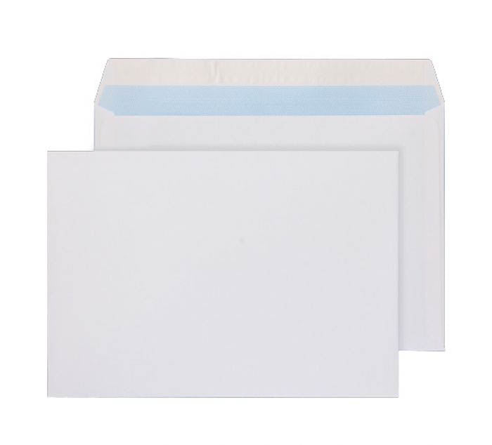 162 x 229mm C5 Whitney Brilliant White Peel & Seal Medium Board Wallet 1203