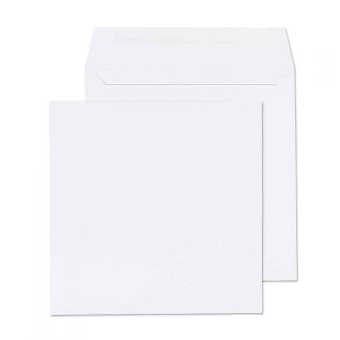 100 x 100mm  Cambrian White Gummed Wallet 2101