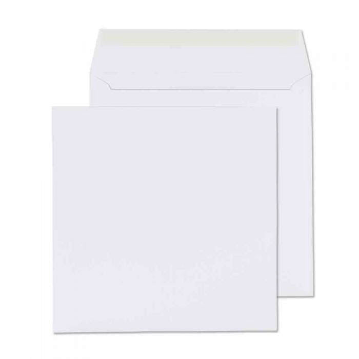 140 x 140mm  Cambrian White Peel & Seal Wallet 2145