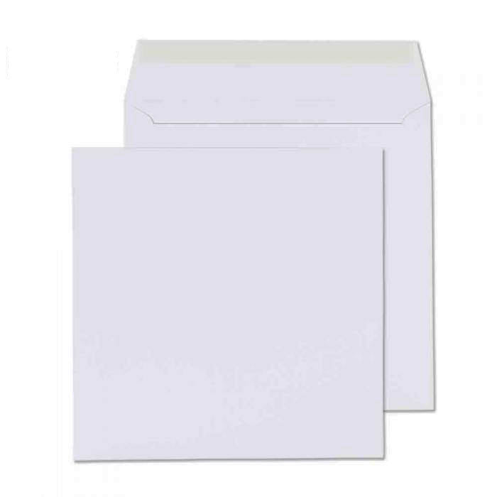 155 x 155mm  Cambrian White Peel & Seal Wallet 2155
