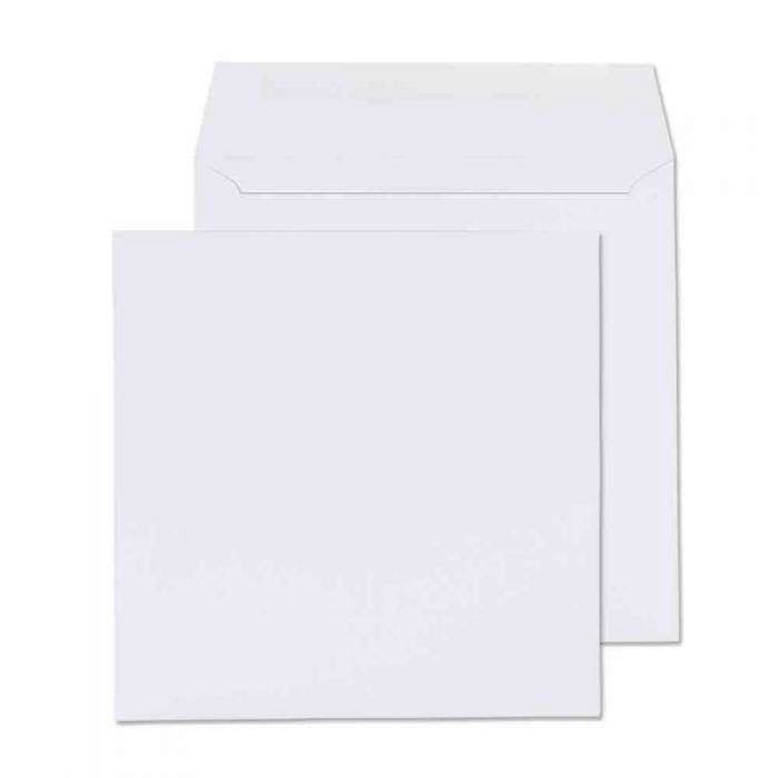 165 x 165mm  Cambrian White Gummed Wallet 2161
