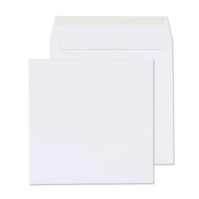 170 x 170mm  Cambrian White Peel & Seal Wallet 2175