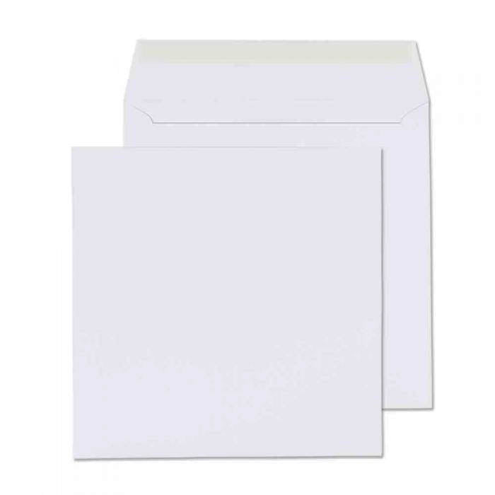 190 x 190mm  Cambrian White Peel & Seal Wallet [Pack 500] 2193