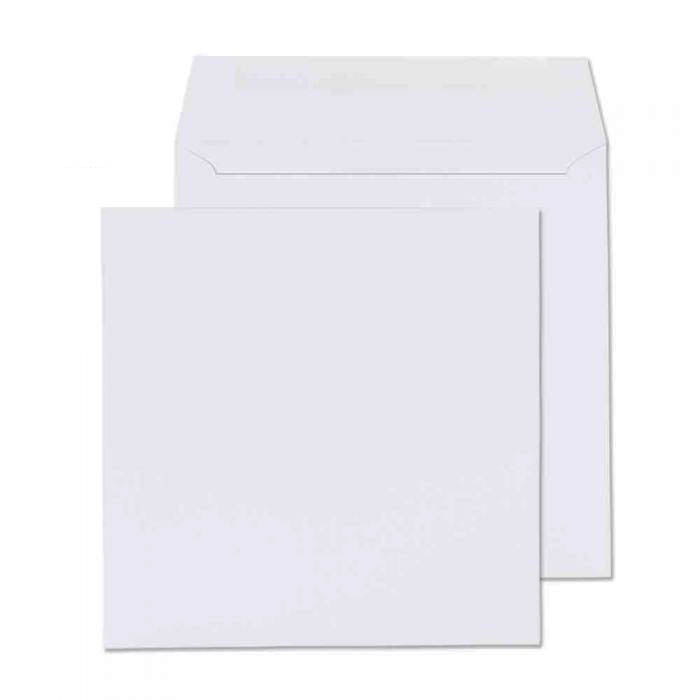 205 x 205mm  Cambrian White Gummed Wallet [Pack 500] 2205