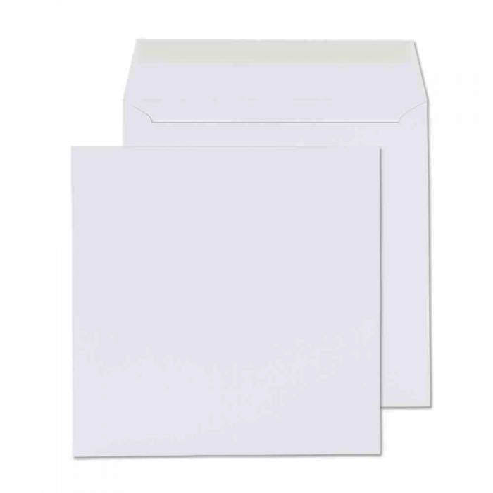 205 x 205mm  Cambrian White Peel & Seal Wallet 2215