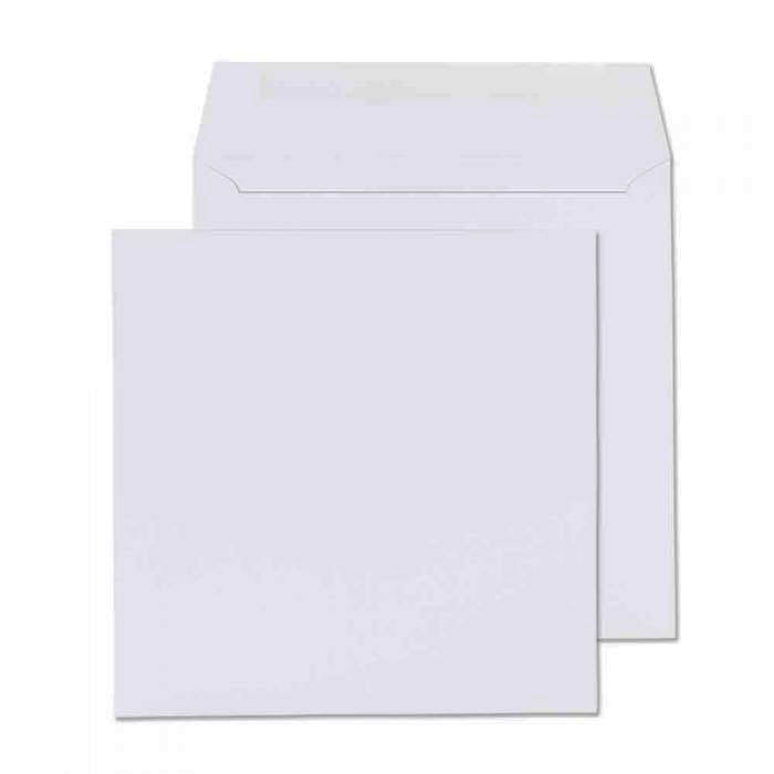 240 x 240mm  Cambrian White Gummed Wallet [Pack 250] 2241