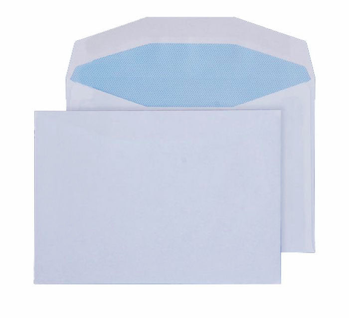 114 x 162mm C6 Pennine White Gummed Wallet 3003