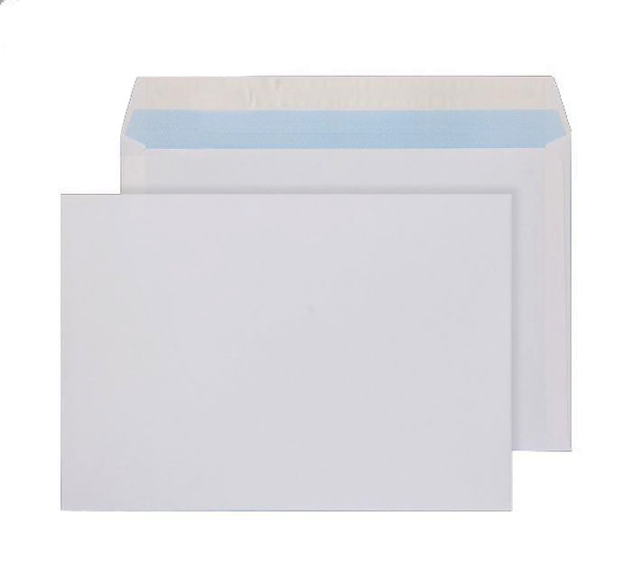 162 x 229mm C5 Rushmore Business White Peel & Seal Wallet 3207