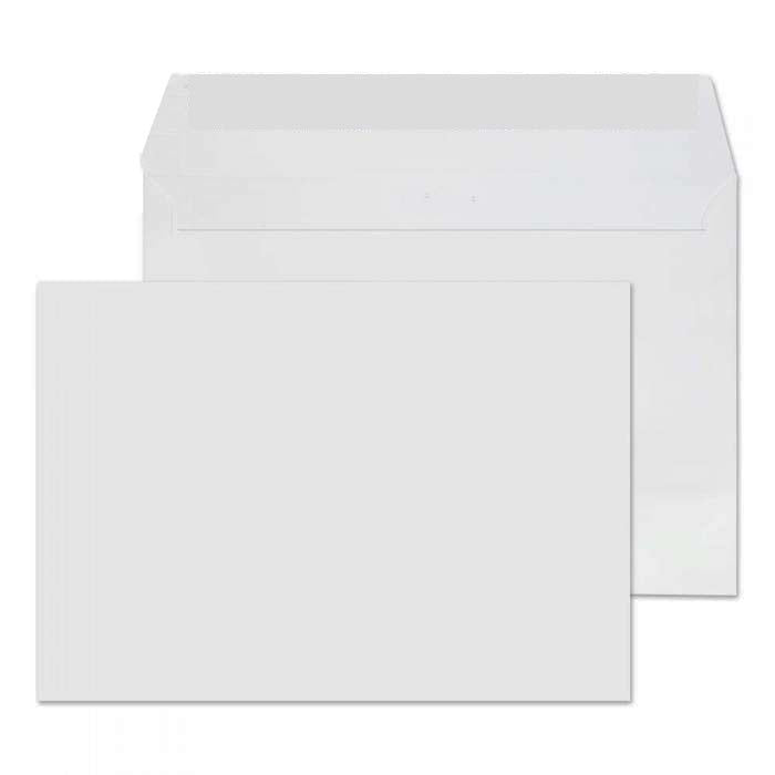 114 x 162mm C6 Whitney Brilliant White Peel & Seal Wallet 1201