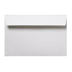 121 x 184mm  Cadair Idris Bright White Peel & Seal Wallet 3265