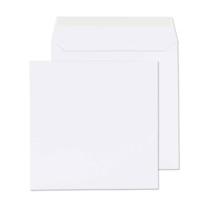 140 x 140mm  Cadair Idris Bright White Peel & Seal Wallet 3273