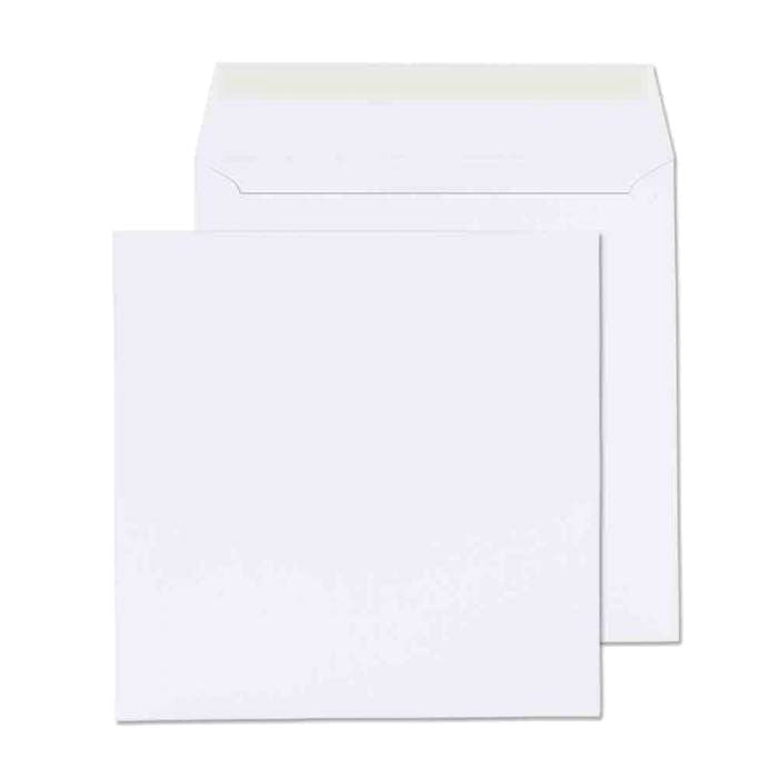 155 x 155mm  Cadair Idris Bright White Peel & Seal Wallet 3275