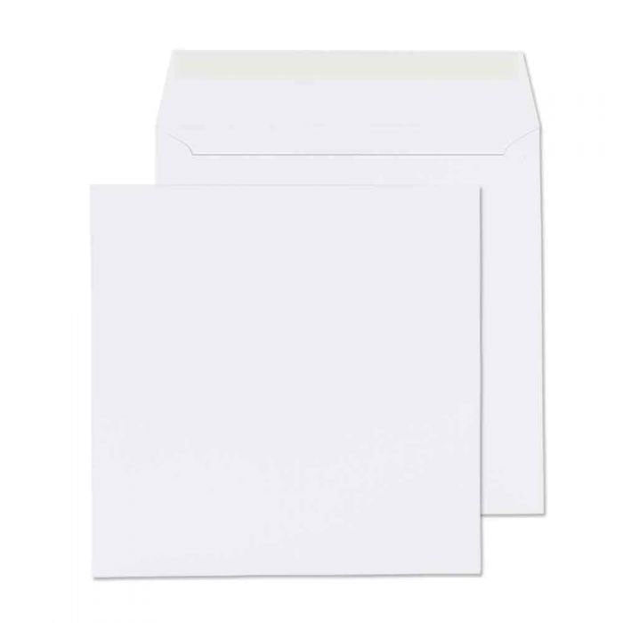 165 x 165mm  Cadair Idris Bright White Peel & Seal Wallet 3283