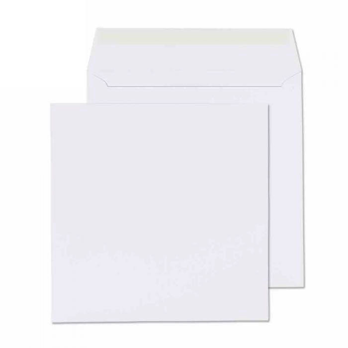 270 x 270mm  Cadair Idris Bright White Peel & Seal Wallet [Pack 250] 3289