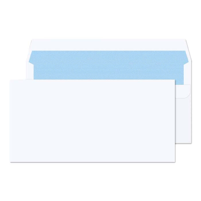 110 x 220mm DL Ben Nevis White Self Seal Wallet 3405