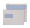162 x 229mm C5 Ben Nevis White Window Self Seal Wallet 3418