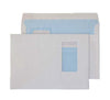 162 x 229mm C5 Scafell White Vertical Window Self Seal Wallet 3430