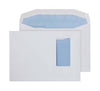 162 x 229mm C5 Pennine White Vertical Window Gummed Wallet 3724