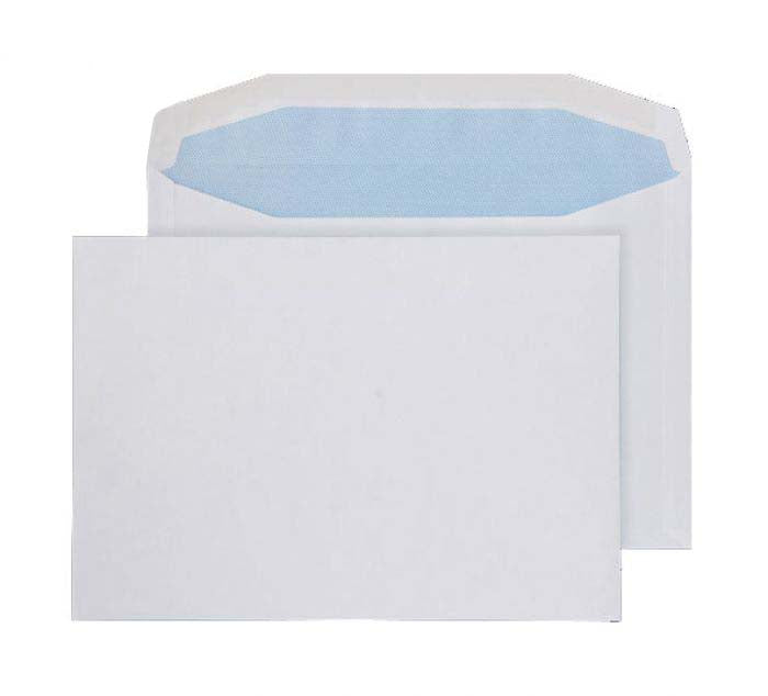 162 x 235mm  Pennine White Gummed Wallet 3725