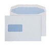 162 x 235mm  Pennine White Window Gummed Wallet 3726