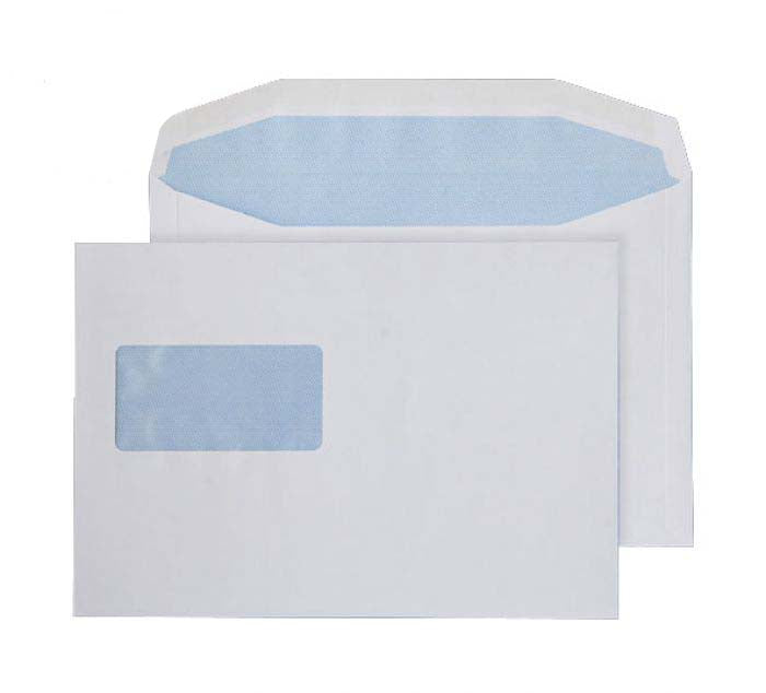 162 x 235mm  Pennine White Gummed Wallet 3728