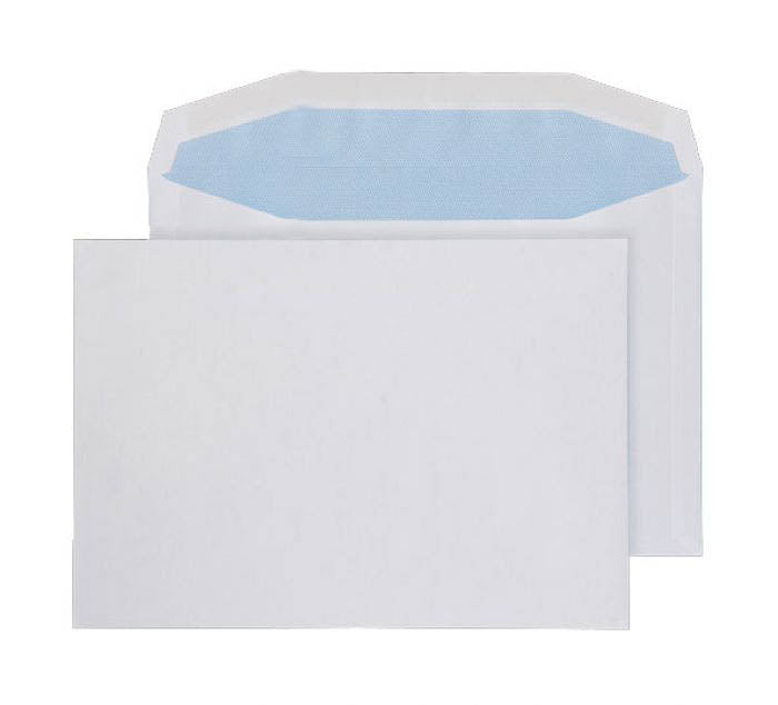 162 x 229mm C5 Tabor White Gummed Wallet 3787