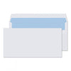 110 x 220mm DL Scafell White Self Seal Wallet 3867
