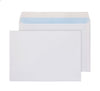 162 x 229mm C5 Snowdonia White Peel & Seal Wallet 3873