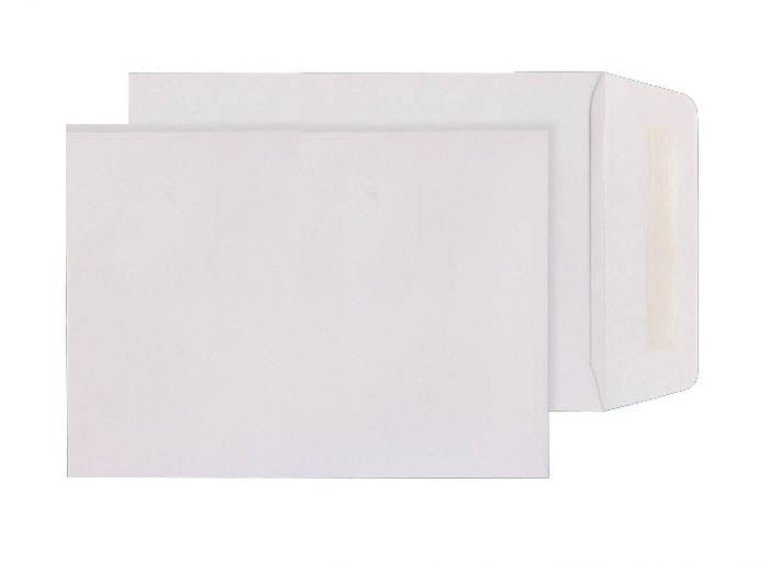 124 x 89mm  Isto White Gummed Pocket with perforation 4413