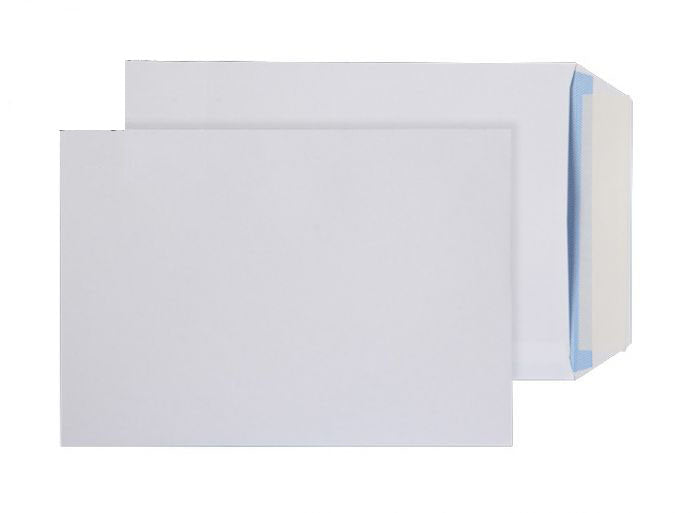 229 x 162mm C5 Snowdonia White Peel & Seal Pocket 4821