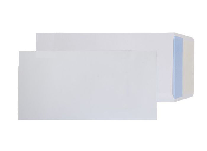 305 x 152mm  Snowdonia White Peel & Seal Pocket [Pack 250] 4862