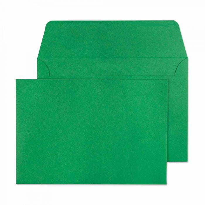 114 x 162mm C6 Cascade Holly Green Peel & Seal Wallet 5108