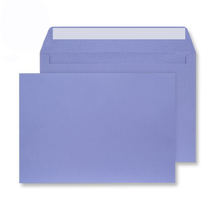 114 x 162mm C6 Cascade Deep Lavender Peel & Seal Wallet 5111