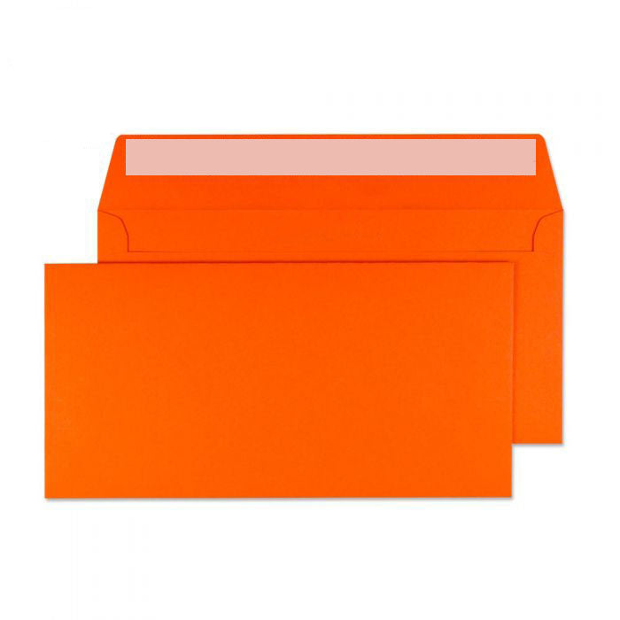 114 x 229mm  Cascade Sunset Orange Peel & Seal Wallet 5205