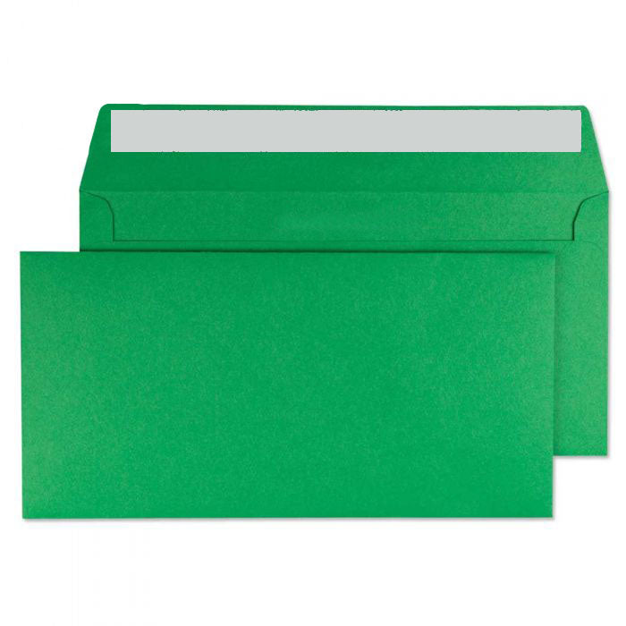 114 x 229mm  Cascade Holly Green Peel & Seal Wallet 5208