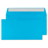 114 x 229mm  Cascade Caribbean Blue Peel & Seal Wallet 5210