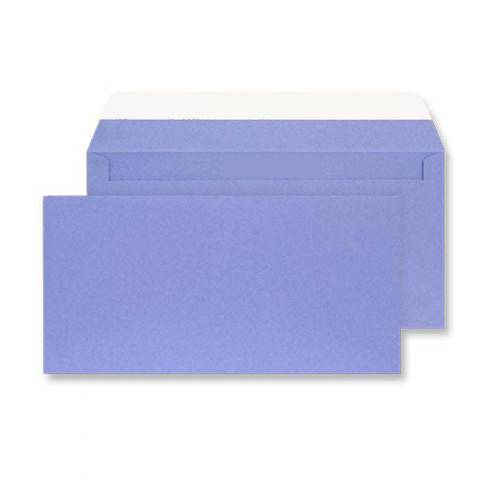 114 x 229mm  Cascade Deep Lavender Peel & Seal Wallet 5211