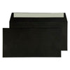 114 x 229mm  Cascade Black Peel & Seal Wallet 5214