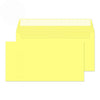 114 x 229mm  Cascade Lemon Yellow Peel & Seal Wallet 5216