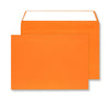 162 x 229mm C5 Cascade Sunset Orange Peel & Seal Wallet 5305