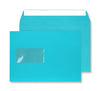 162 x 229mm C5 Cascade Pacific Blue Window Peel & Seal Wallet 5309W