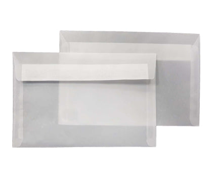 162 x 229mm C5 Mount Crystal White (Tracing) Peel & Seal Wallet 5315