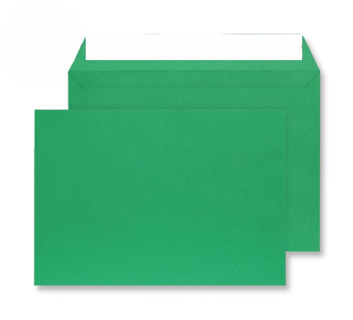 229 x 324mm C4 Cascade Holly Green Peel & Seal Wallet 5408