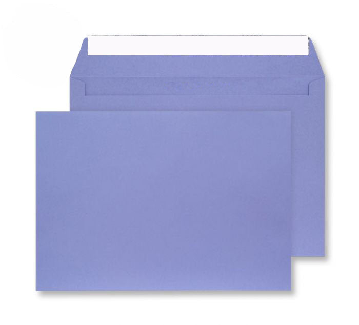 229 x 324mm C4 Cascade Deep Lavender Peel & Seal Wallet 5411