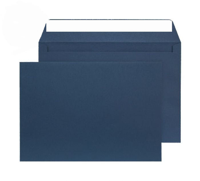 229 x 324mm C4 Cascade Oxford Blue Peel & Seal Wallet 5420