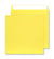 220 x 220mm  Cascade Canary Yellow Peel & Seal Wallet 5503
