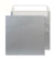 220 x 220mm  Cascade Silver Metallic Peel & Seal Wallet 5512