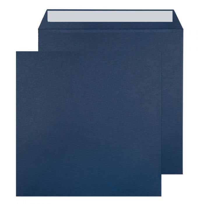 220 x 220mm  Cascade Oxford Blue Peel & Seal Wallet 5520