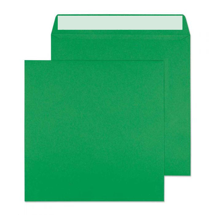 160 x 160mm  Cascade Holly Green Peel & Seal Wallet 5608