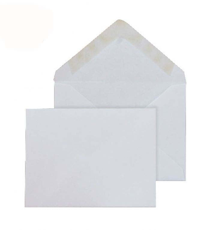 95 x 146mm  Brocken Plus White Gummed Diamond flap [Pack 500] 6206
